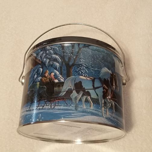 1.5 lb Sleigh Ride Christmas tin 2019