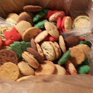 2 lb. Bulk Assorted Christmas Cookies