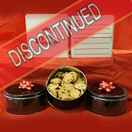 2 pack 1 lb. tin gift box