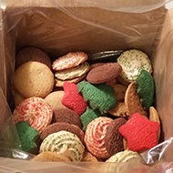 2 lb. bulk assorted christmas cookie