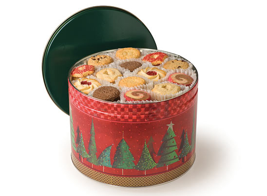 The Chicago Cookie Store Maurice Lenell Holiday Tins
