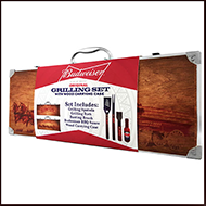 Budweiser Wood Small Grilling Case