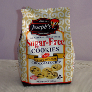 Joseph's Sugar Free Chocolate Chip Cookies