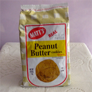 Matts Peanut Butter Cookies