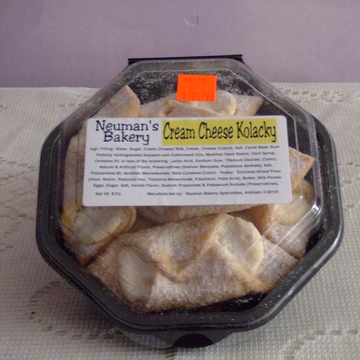 Neuman's Cream Cheese Kolacky