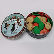 Penguin Tin Cookies